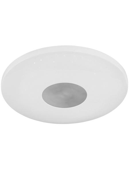 wofi® Deckenleuchte weiß 22 W, 1-flammig, dimmbar, inkl. Leuchtmittel in neutralweiß