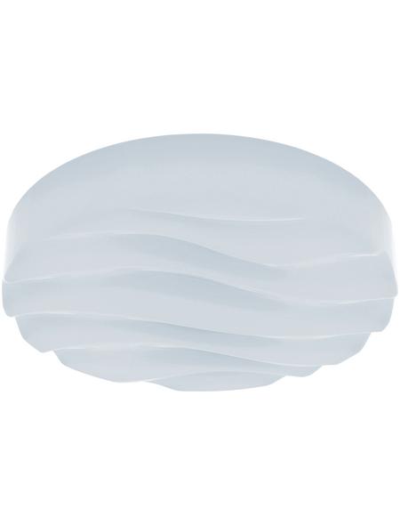 wofi® Deckenleuchte weiß 23 W, 1-flammig, dimmbar, inkl. Leuchtmittel in tageslichtweiß