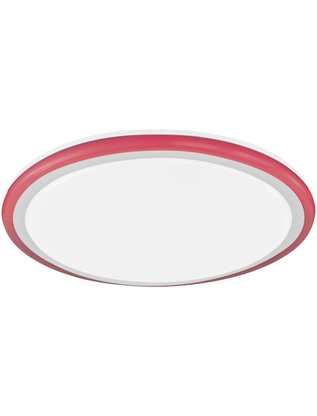 wofi® Deckenleuchte weiß 28 W, 2-flammig, dimmbar, inkl. Leuchtmittel in tageslichtweiß