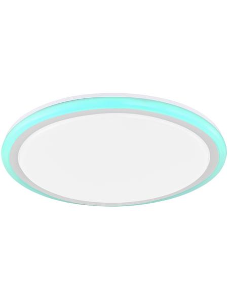 wofi® Deckenleuchte weiß 32 W, 2-flammig, dimmbar, inkl. Leuchtmittel in tageslichtweiß