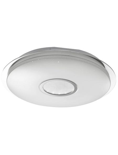 wofi® Deckenleuchte weiß 38 W, 1-flammig, dimmbar, inkl. Leuchtmittel in tageslichtweiß