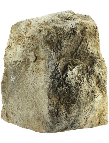 OASE Deko-Steine, Kunststoff, sandfarben