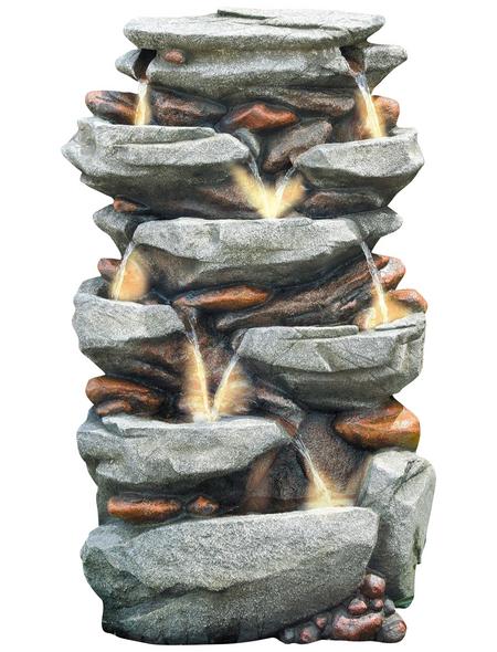 GRANIMEX Dekobrunnen »Jibei«, natur, inkl. Pumpe
