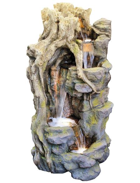GRANIMEX Dekobrunnen »Lei-Sheng«, natur, inkl. Pumpe