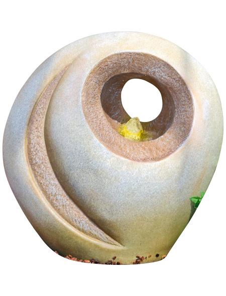GRANIMEX Dekobrunnen »Luo«, steingrau, inkl. Pumpe