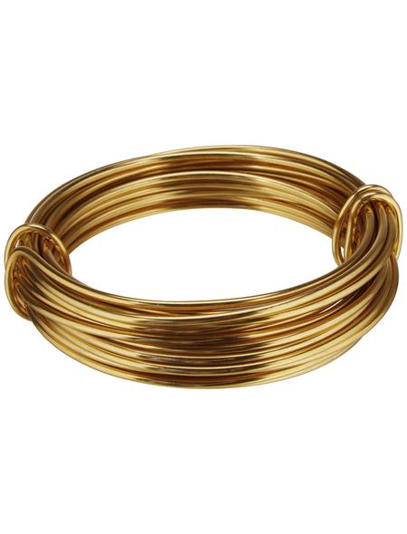 NATURAL COLLECTIONS Dekodraht gold 5 m