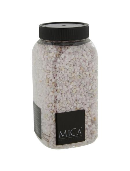 mica® decorations Dekomaterial Kiesel Stein rosa 1 kg