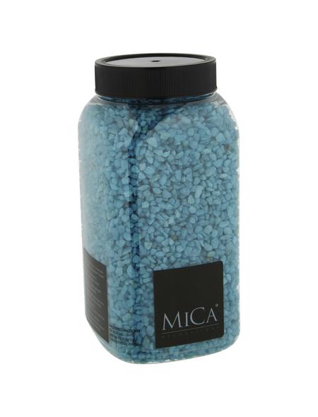 mica® decorations Dekomaterial Kiesel Stein türkis 1 kg