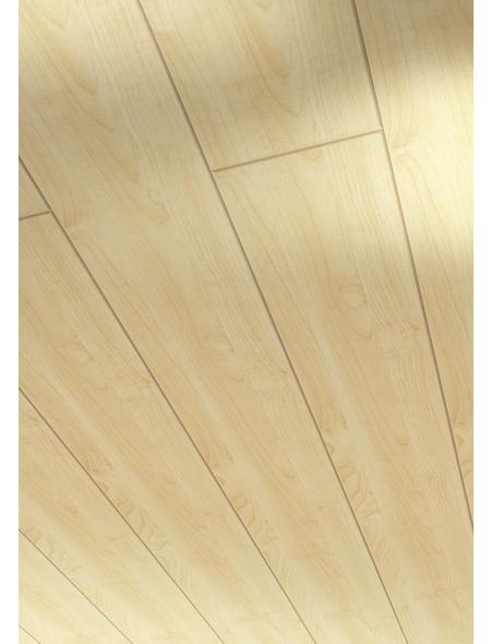 PARADOR Dekorpaneele »Home«, Ahornfarben, Holz, Stärke: 10 mm
