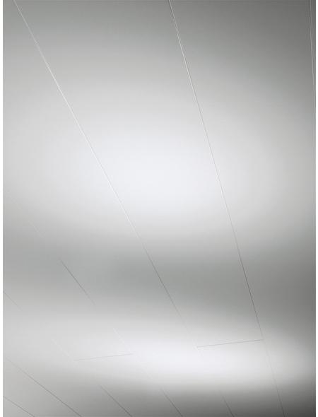 PARADOR Dekorpaneele »Milano«, Weiß, hochglänzend