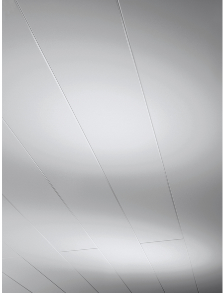 PARADOR Dekorpaneele »Novara«, Weiß, seidenmatt