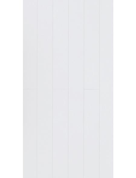 PARADOR Dekorpaneele »Rapido«, Weiß, seidenmatt