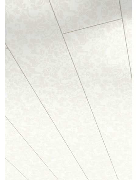 PARADOR Dekorpaneele »Style«, weiß, Holz, Stärke: 10 mm