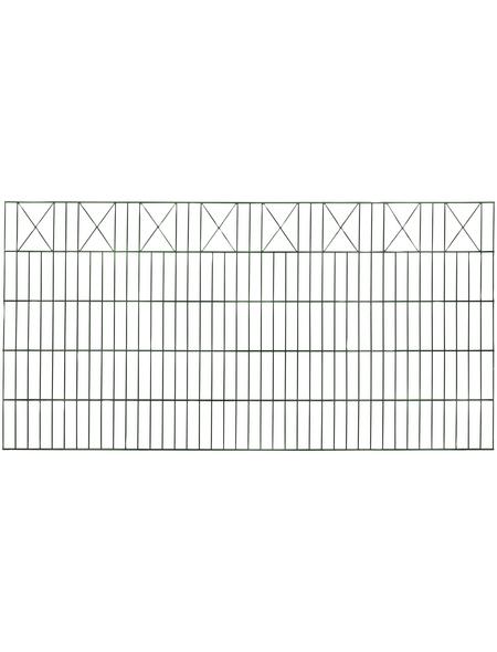 FLORAWORLD Dekorzaun-Matte, HxL: 100 x 200 cm, grün