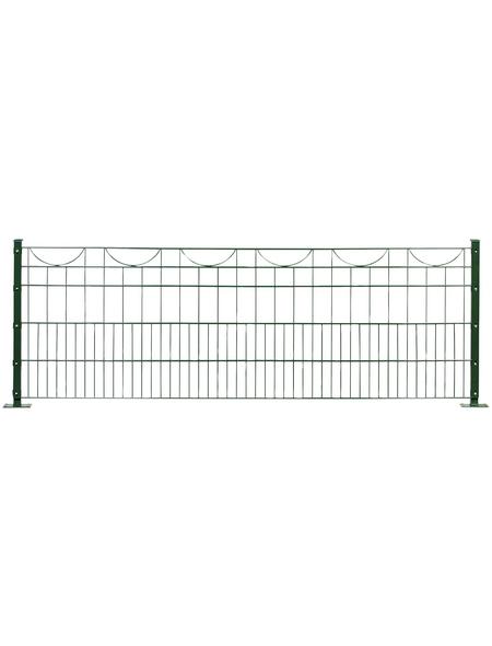 FLORAWORLD Dekorzaun-Matte, HxL: 80 x 245 cm, grün