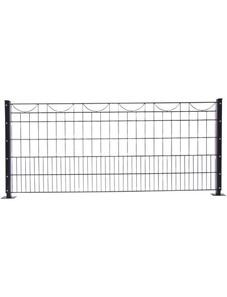 FLORAWORLD Dekorzaun-Matte »Premium«, Stahl, 1 Stück, LxH: 245 x 100 cm