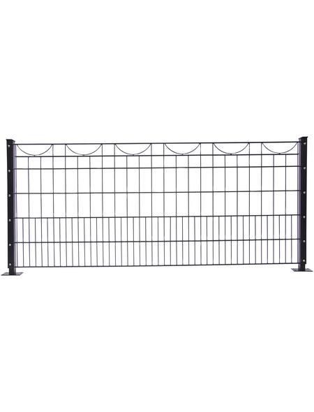 FLORAWORLD Dekorzaun-Matte »Premium«, Stahl, 1 Stück, LxH: 245 x 80 cm