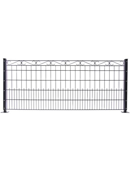 FLORAWORLD Dekorzaun-Matte »Premium«, Stahl, 1 Stück, LxH: 250 x 100 cm