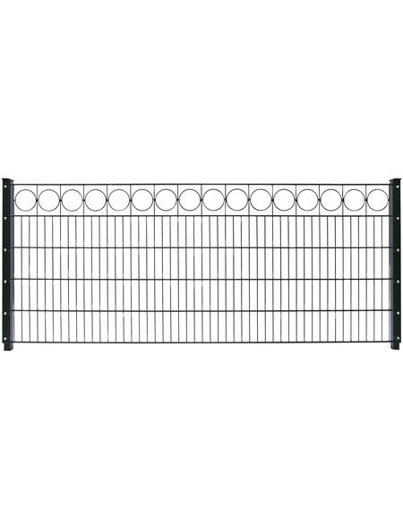 FLORAWORLD Dekorzaun-Matte »Premium«, Stahl, 1 Stück, LxH: 250 x 80 cm