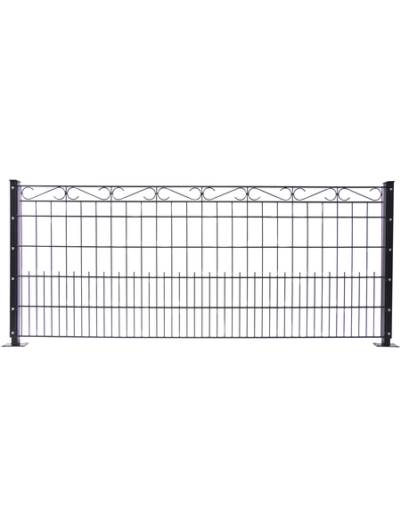 FLORAWORLD Dekorzaun-Matte »Premium«, Stahl, LxH: 250 x 100 cm