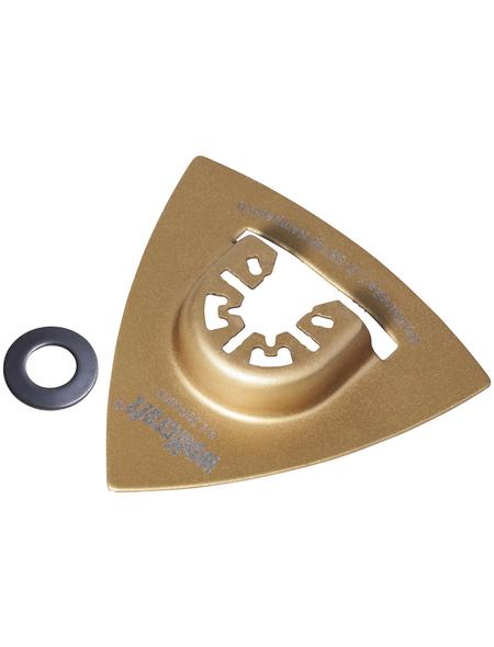WOLFCRAFT Delta-Schleifplatte PRO 80 mm
