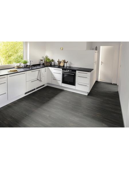 EGGER Designboden »EGGER HOME Designboden«, B x L: 192 x 1295 mm, Oldham Eiche schwarz
