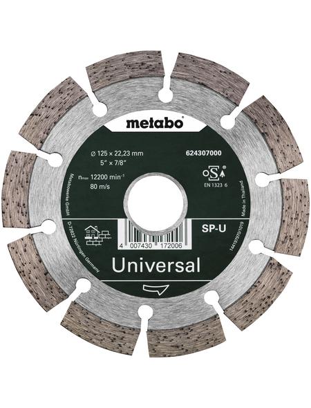 METABO Diamanttrennscheibe, Ø 125 mm