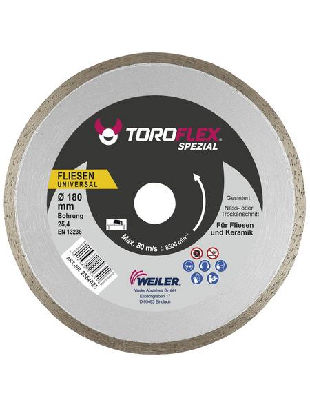 TOROFLEX Diamanttrennscheibe, Ø 180 mm, Zubehör für: Tischsägen