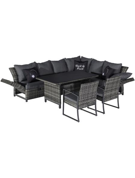 CASAYA Dining-Lounge »Bolanos«, 8 Sitzplätze, inkl. Auflagen