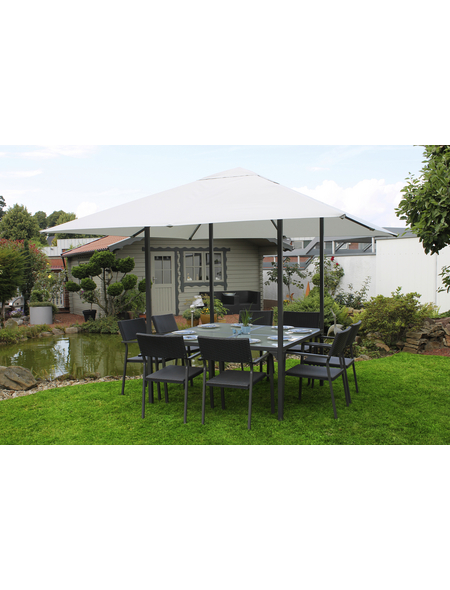 Dining-Pavillon, viereckig, BxT: 300 x 300 cm