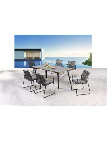BEST Diningset »Bormio«, 6 Sitzplätze, inkl. Auflagen