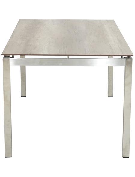 ploß® Diningtisch »Jersey«, mit Hpl-Tischplatte, BxLxH: 90x158x75 cm