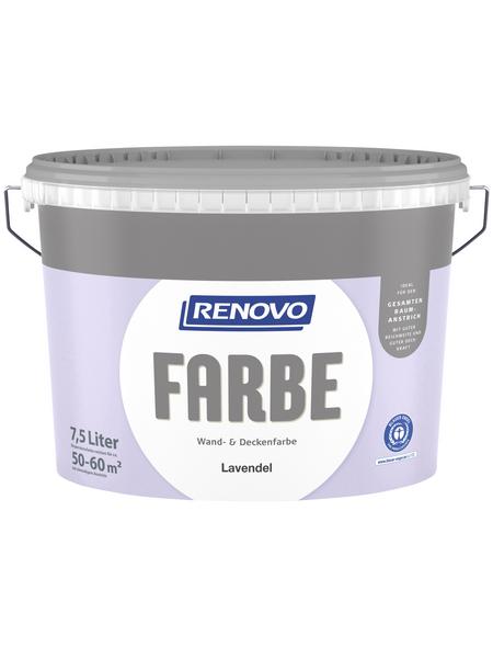 RENOVO Dispersionsfarbe »Farbe«, Lavendel, matt