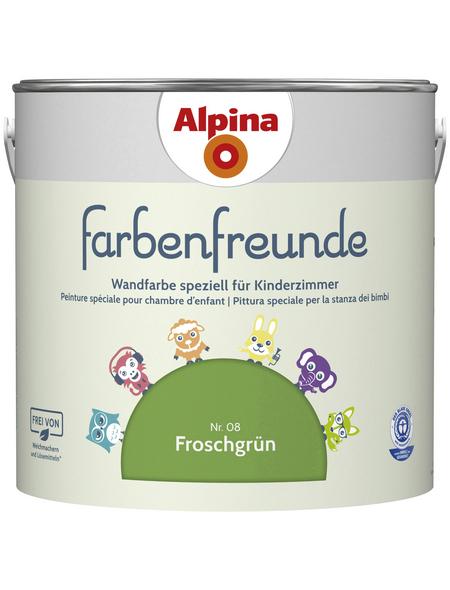 ALPINA Dispersionsfarbe »Farbenfreunde«, Froschgrün, matt