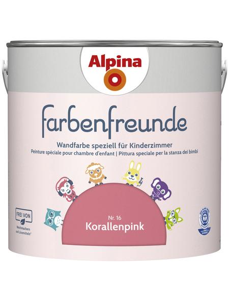 ALPINA Dispersionsfarbe »Farbenfreunde«, Korallenpink, matt