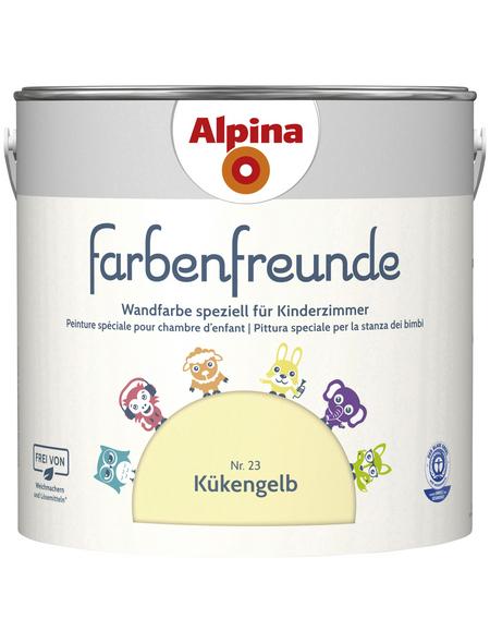 ALPINA Dispersionsfarbe »Farbenfreunde«, Kükengelb, matt
