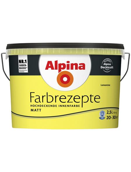 ALPINA Dispersionsfarbe »Farbrezepte«, Lemontree, matt