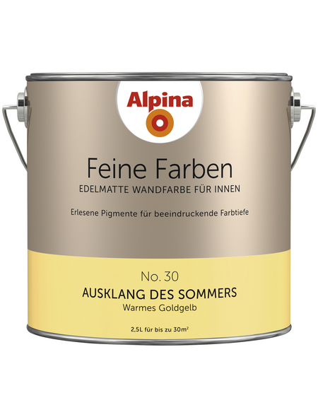 ALPINA Dispersionsfarbe »Feine Farben«, Ausklang des Sommers, matt