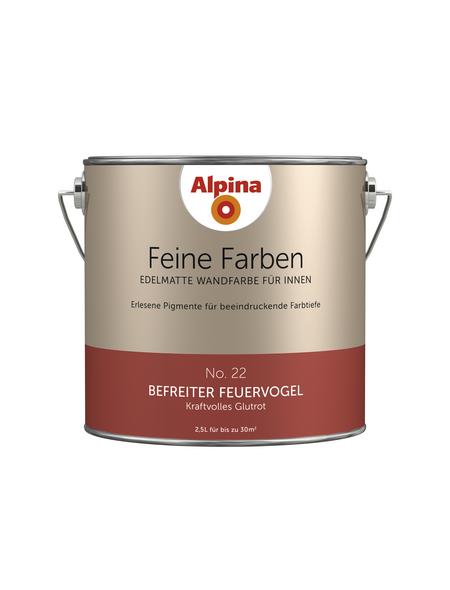 ALPINA Dispersionsfarbe »Feine Farben«, Befreiter Feuervogel, matt