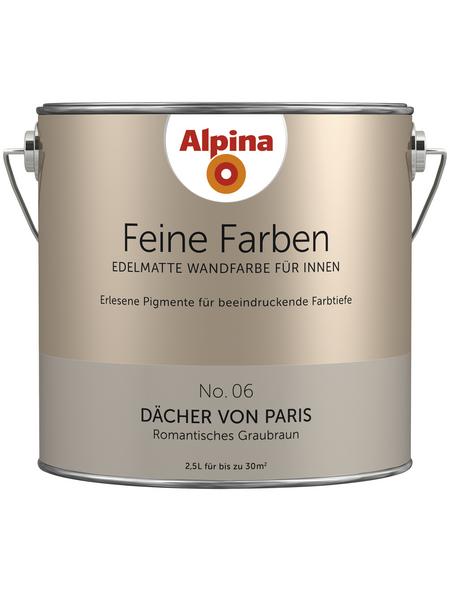 ALPINA Dispersionsfarbe »Feine Farben«, Dächer von Paris, seidenmatt
