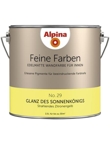 ALPINA Dispersionsfarbe »Feine Farben«, Glanz des Sonnenkönigs, matt