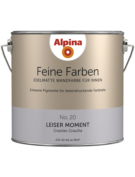 ALPINA Dispersionsfarbe »Feine Farben«, Leiser Moment, matt