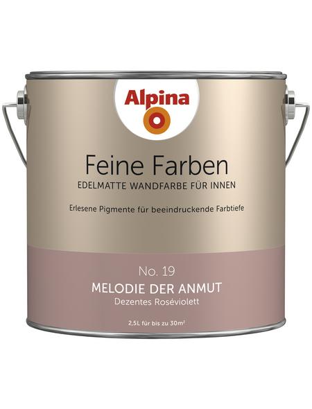 ALPINA Dispersionsfarbe »Feine Farben«, Melodie der Anmut, seidenmatt