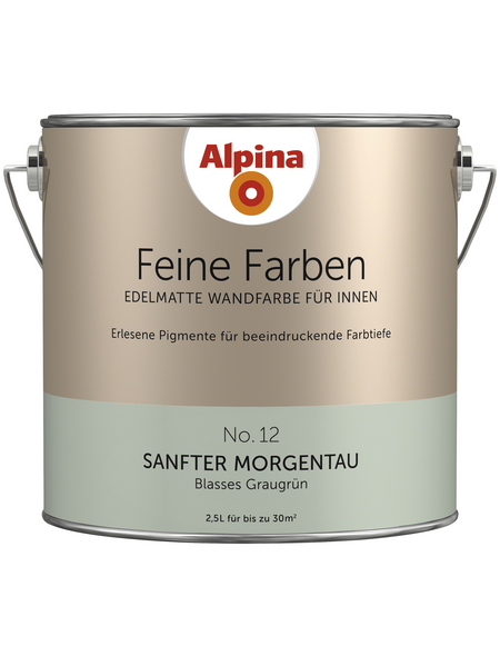 ALPINA Dispersionsfarbe »Feine Farben«, Sanfter Morgentau, matt
