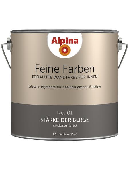 ALPINA Dispersionsfarbe »Feine Farben«, Stärke der Berge, seidenmatt