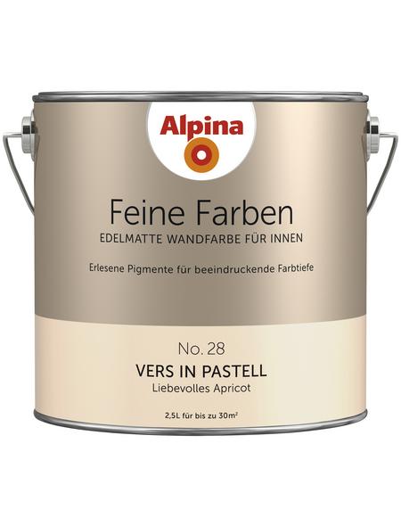ALPINA Dispersionsfarbe »Feine Farben«, Vers in Pastell, matt