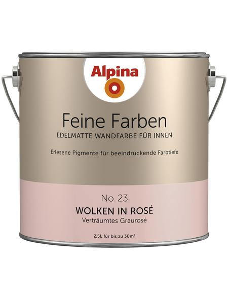 ALPINA Dispersionsfarbe »Feine Farben«, Wolken in Rosé, matt