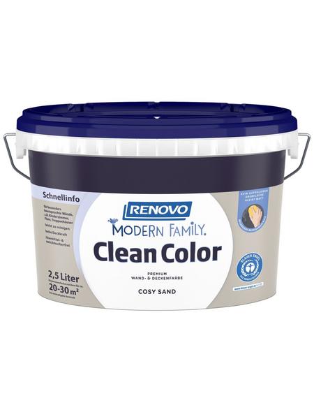 RENOVO Dispersionsfarbe »Modern Family.«, Cosy Sand, matt