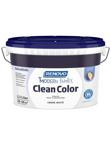 RENOVO Dispersionsfarbe »Modern Family.«, Creme White, matt