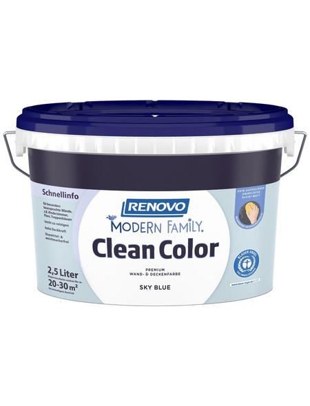 RENOVO Dispersionsfarbe »Modern Family.«, Sky Blue, matt